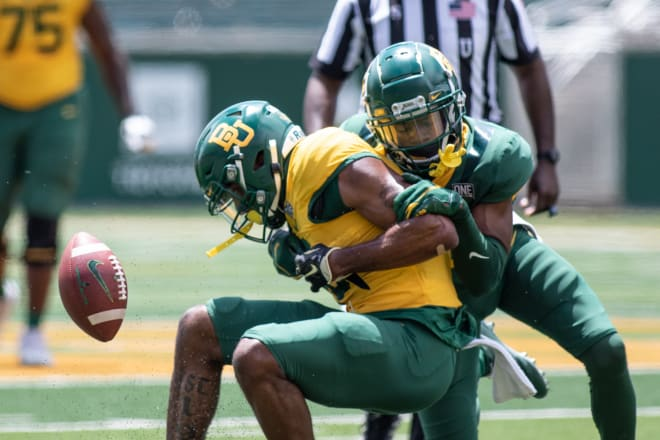 Baylor's Kalon Barnes is ready for the defense to take the next step.