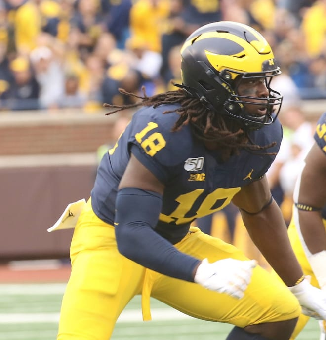 Former Michigan Wolverines football defensive end Luiji Vilain was a Rivals100 prospect out of high school.