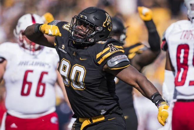 Appalachian State defensive lineman Chris Willis has announced his intention to transfer to East Carolina for his senior campaign.