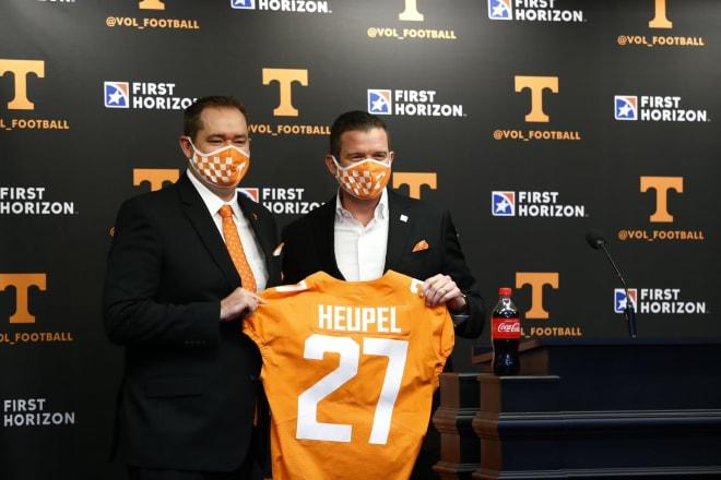 Danny White introducing new Tennessee head coach Josh Heupel