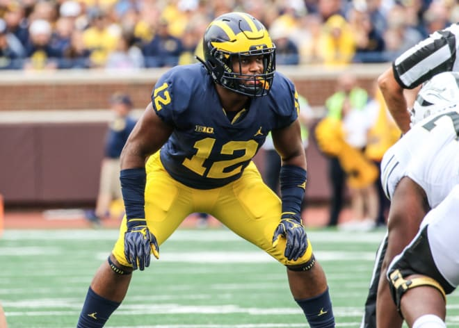 Michigan Wolverines football linebacker Josh Ross led the team in tackles last season with 53.