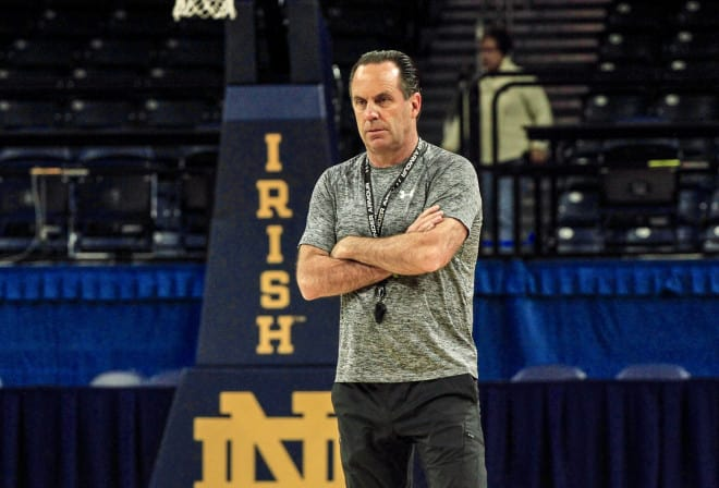 Mike Brey enters his 21st season as Notre Dame's head coach.