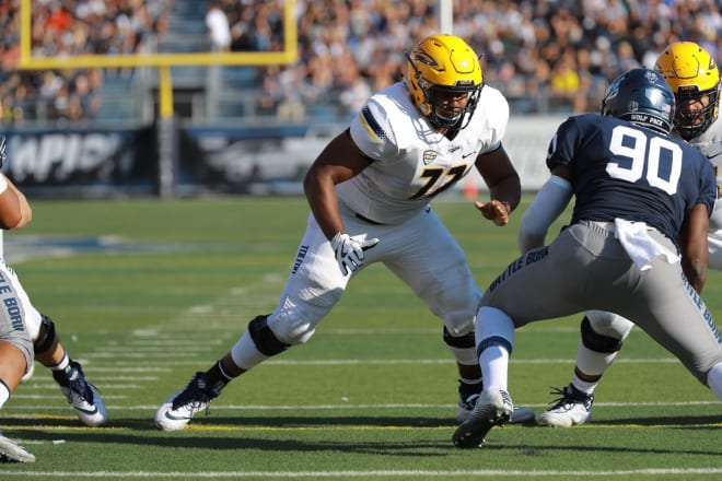 Toledo center Bryce Harris, a first-team All-MAC pick in 2020, is returning for a seventh season in 2021.