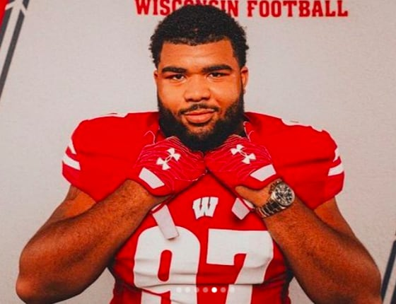 Three-star defensive tackle Curtis Neal committed to Wisconsin in June.
