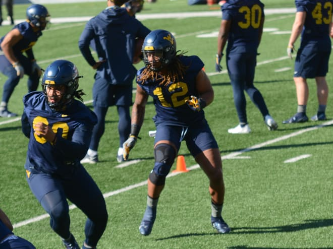 This has been a big spring for West Virginia Mountaineers defensive end Alston.