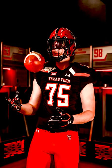 Argyle OT Jack Tucker is the first offensive lineman commitment for the Texas Tech 2021 class