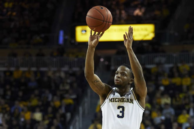 Junior guard Zavier Simpson had 24 points against Northwestern.