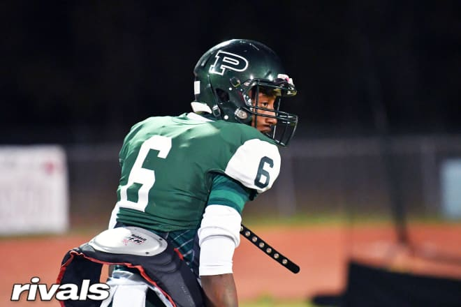 Ponchatoula (La.) High wide receiver and Notre Dame Fighting Irish football commit Amorion Walker