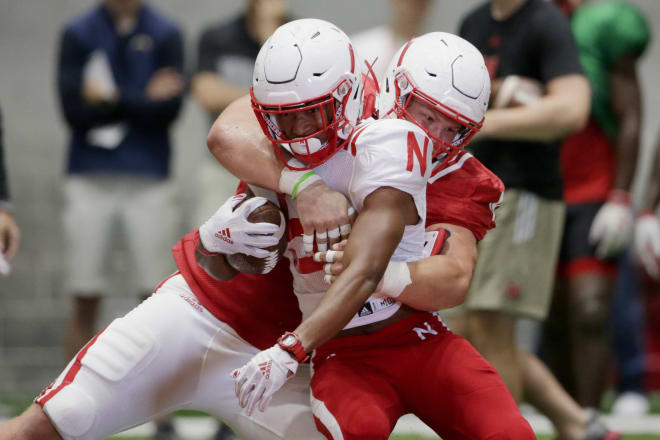 Nebraska's 2019 freshman class, including receiver Darien Chase and defensive lineman Ty Robinson above, have been everything the Huskers had hoped so far.