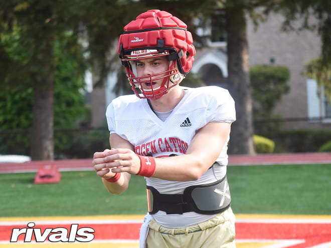 Oradell (N.J.) Bergen Catholic quarterback and Notre Dame Fighting Irish football commit Steven Angeli