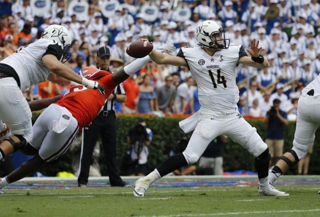 Quarterback Kyle Shurmur has the potential to cause a few problems for the Bulldogs.