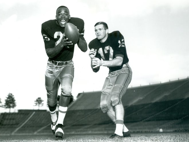 Leroy Keyes )23) an Bob Griese talk about their one season together as Boilermakers and much more.
