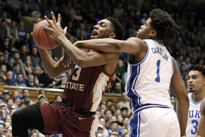 Trent Forrest had a huge game for Florida State but the Seminoles couldn't knock off the Blue Devils.