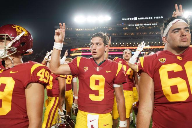 USC Trojans quarterback Kedon Slovis