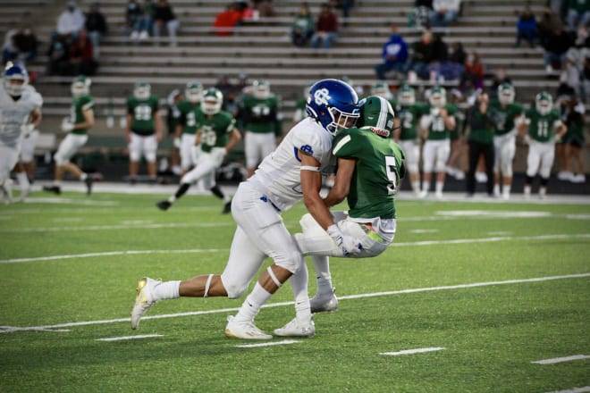Notre Dame class of 2022 linebacker commit Nolan Ziegler turned in a big performance on Friday.