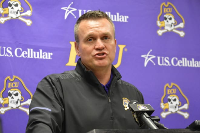 First year ECU head football coach Mike Houston is putting a complete overhaul on the Pirate football program.