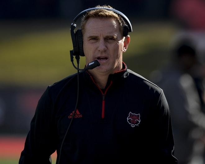 Arkansas State head football coach Blake Anderson