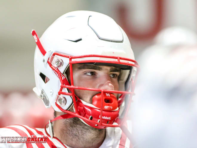 After coming to Nebraska as a walk-on, junior Kade Warner has established himself as one of the leaders of the wide receiver room.